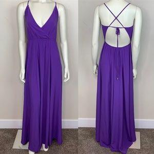 Lulus 'Everything's All Bright' Purple Dress
